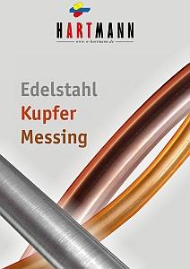 Lagerliste Edelstahl, Kupfer, Messing